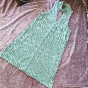 Max Studio Green Summer Dress